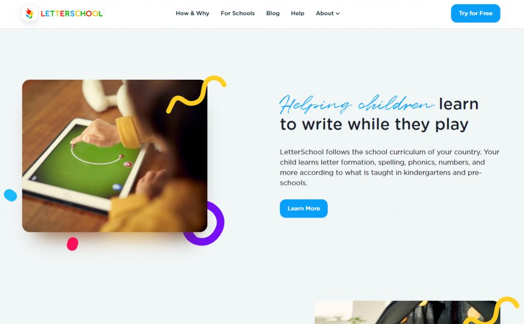 Best Writing Apps for Kids - Letter School
