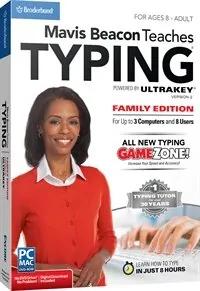 Mavis Beacon Teaches Typing- Family Edition